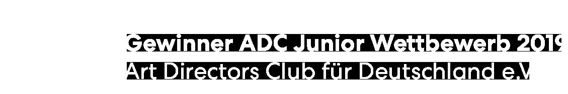 Gewinner ADC Junior Wettbewerb 2019
